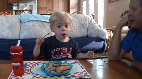 20120802 Arlington, VA - Dylan Using A Fork