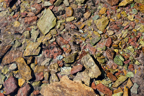 Rocks in Water