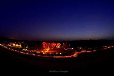 Balloons Over Grenada Lake