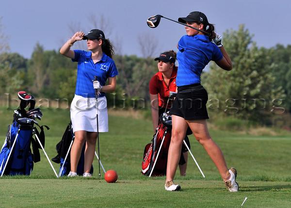 Lincoln-Way East Varsity Women's Golf 2015