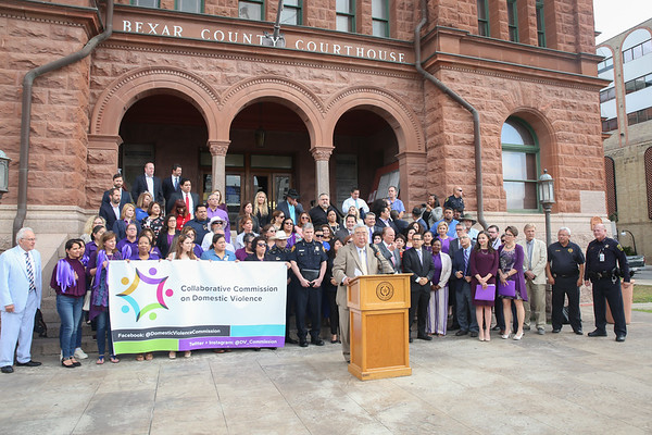 Collaborative Commission on Domestic Violence Press Conferennce