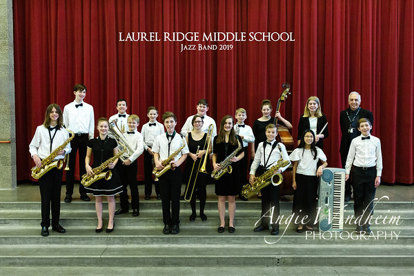 LRMS Jazz Band 2019