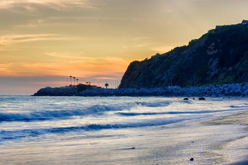 Sunset. Malibu, CA