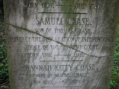 Samuel Chase Grave