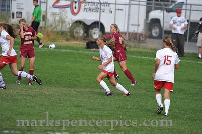 Soccer Springville Girls vs MMHS 9-15-10