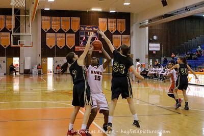Girls Frosh Basketball vs Langley 1/27/17