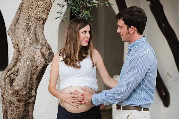 Maria i Pedro - embaràs