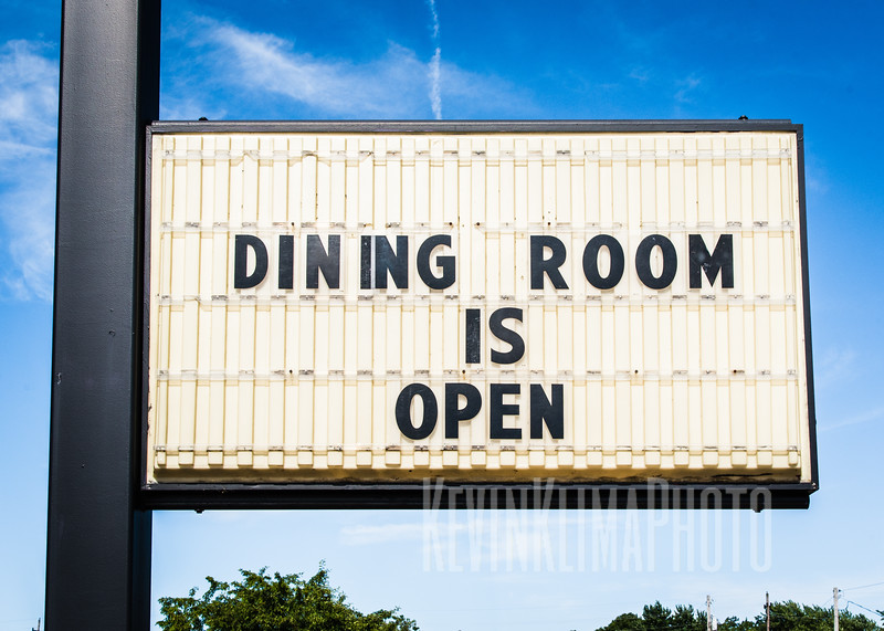 Dining Room is Open