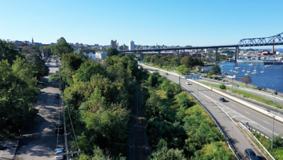 Train Property Drone Video
