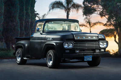 Ford F-100  and Plymouth 392 Hemi