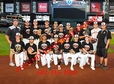 3-29-19 - Desert Edge vs. Coconino - At Chase Field - Baseball Game