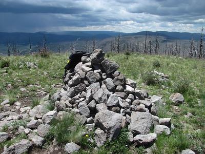 Jemez Mtns. - Cerro Grande Summit Hike   6-15-15