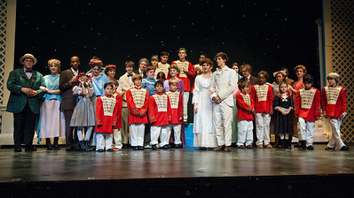 Nyack H S Production of The Music Man, Tech Week Photos March 10, 2015