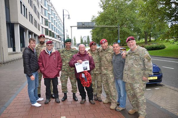 Arnhem Nijmegan Eindhoven Cermonies