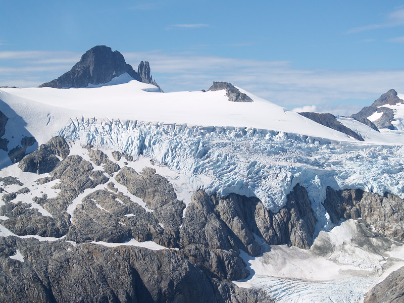 Lemon Glacier - cut off from the Juneau Icefield so it is not considered part of the icefield