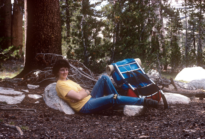 1988-08 Nelson Lake Yosemite Bonnie.jpg