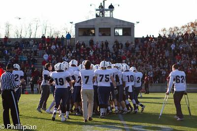 Football vs. Exeter 11/12/2011