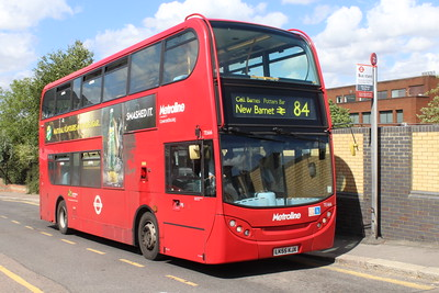 Route 84 (1986-): St Albans to New Barnet