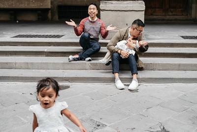 Mr. Terry Tan's Family in Florence