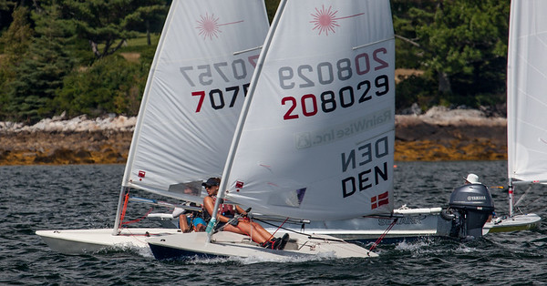 August 20th Laser Sailing