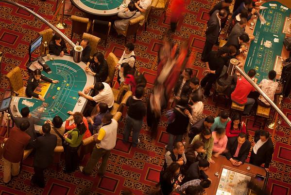 Grand Lisboa Casino Gaming Floor