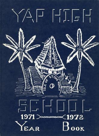 Yap High School Yearbook 1971-1972