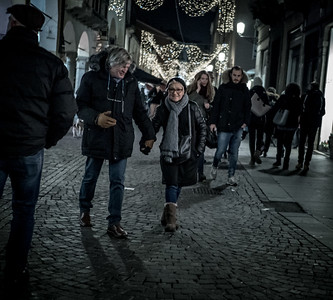 Padova, An evening walk in December 2018