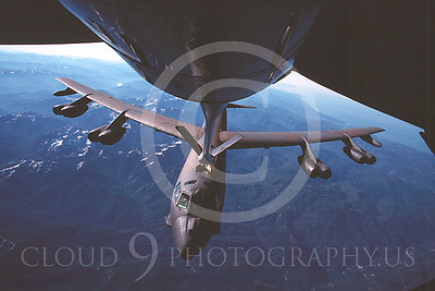 USAF Boeing B-52 Stratofortress Aerial Refueling Pictures