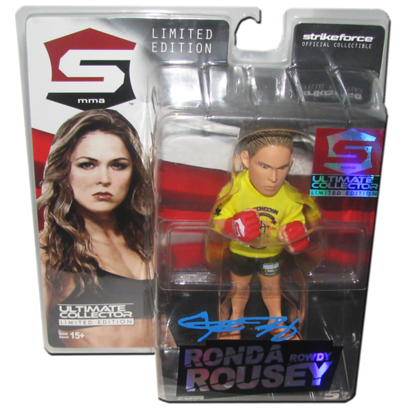 Ronda Rousey Autographed UFC Ultimate Collector Series 14 Limited Edition Round 5 Figure