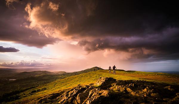 Top of the Malvern Hills