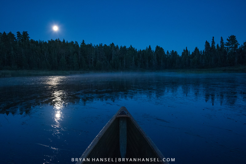 Moonlight Reflections on Gunwales