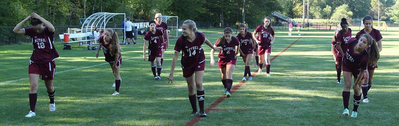 Varsity Girls Soccer vs Joel Barlow - 09/19/2013