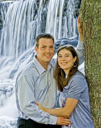 Kristine and John Southford Falls