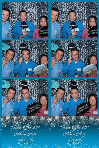 """Winston & Strawn Chicago Office """"Holiday Party 2017"""""""