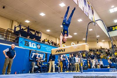 3-24-18 - Michigan Men's Gymnastics Vs Penn State