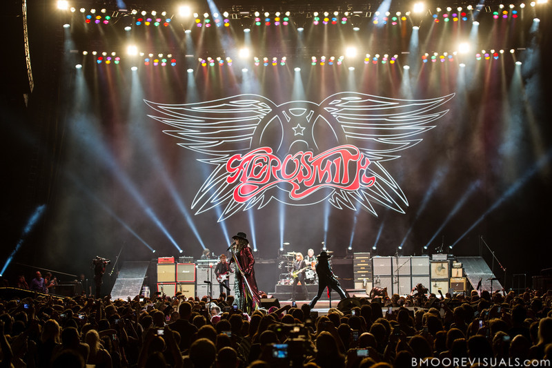 Aerosmith perform on December 11, 2012 during The Global Warming Tour at Tampa Bay Times Forum in Tampa, Florida