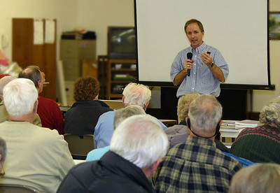 Paul Horsted showed dozens of photographs on the large screen.  While many of them were Spearfish area shots from his popular  The Black Hills Yesterday & Today book published by Golden Valley Press, he included many photographs related to his research of the Custer expeditions.  He also shared a few materials that will be included in his next book, tentatively titled  Crossing the Plains with Custer, scheduled for release later this year -- probably around November 1st.