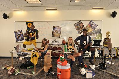 25487 Student Athlete shoot for Alumni Magazine