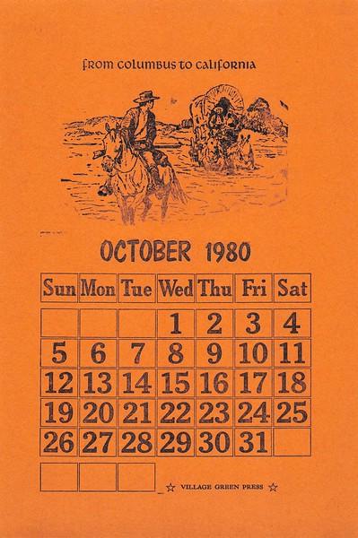 October, 1980, Village Green