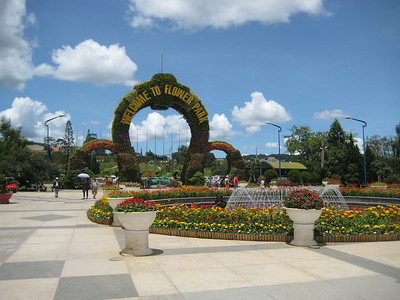 Dalat - Flower park