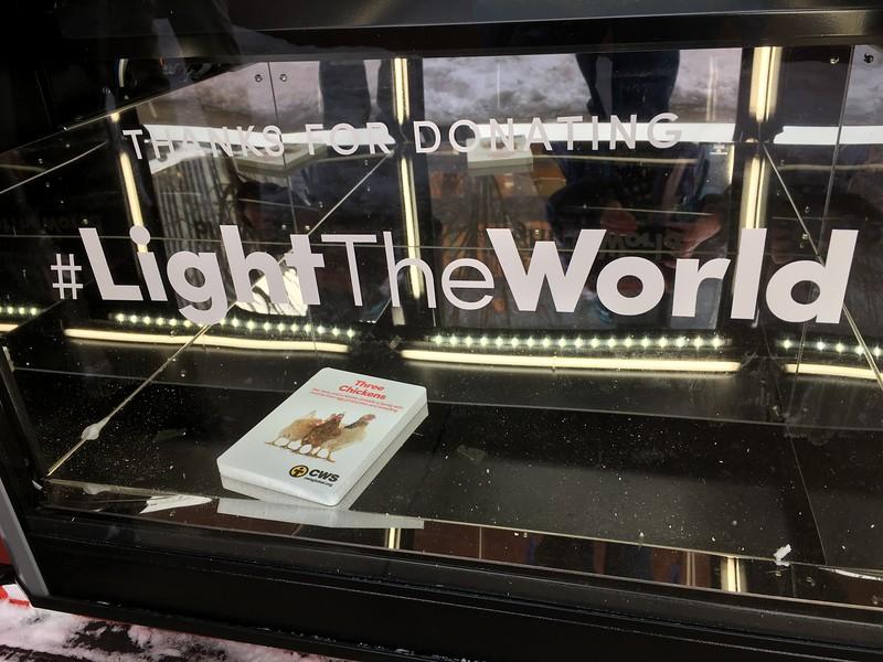 I'm Lighting the World this year!