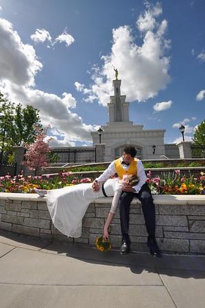 DEJUAN & ELAURA Columbia River Temple Wedding