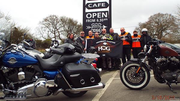Cafe 1066 Ride, 16 Mar 2019