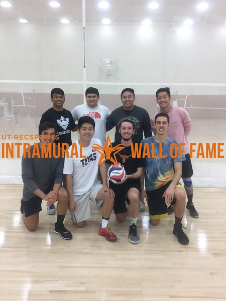 Fall 2017 Volleyball Men's Runner Up My Dig Touches the Floor