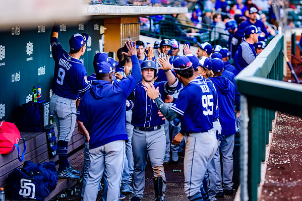Padres vs Cubs Pictures