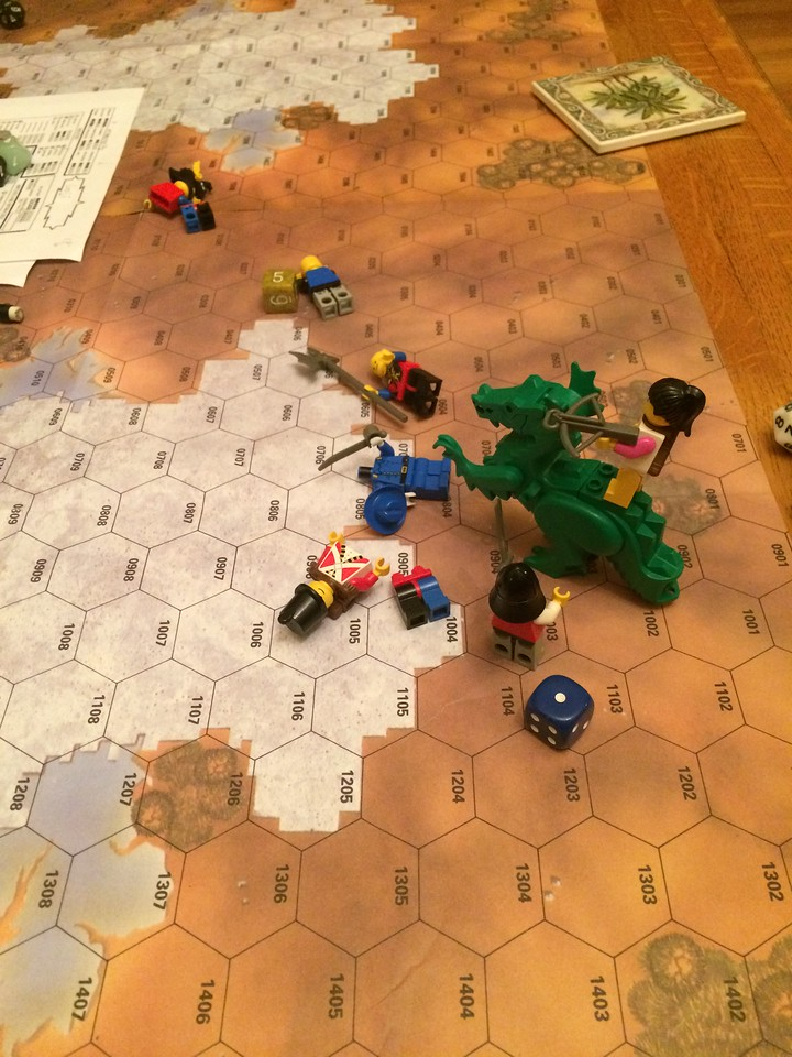 Warlords of the Mushroom Kingdom combat testing end