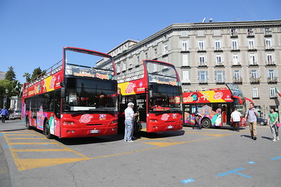 Buses and coaches of Naples, Sorrento and Capri