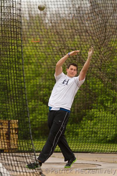 2012-04-14 Hillsdale College Track - Hillsdale Invitational