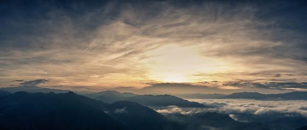 Sagada 2012 - Echo Valley and Kiltepan Sunrise