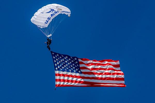 American Flag Presentation
